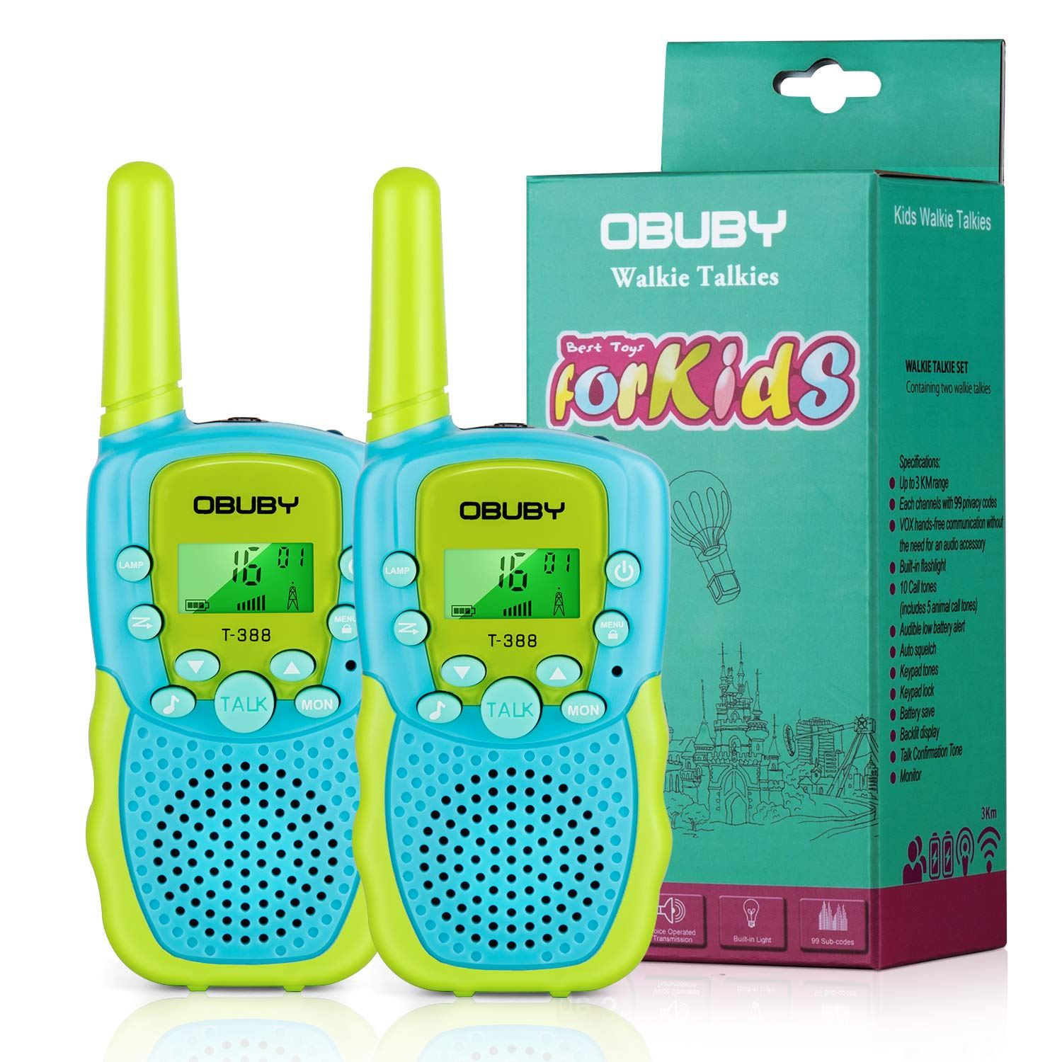 Obuby Talkies Channels Flashlight Adventure