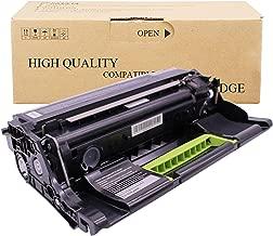 SHZJZCompatible con LEXMARK 50F0Z00 Cartucho De Toner para El Cartucho De La Impresora LEXMARK MS / MX317DN MS417DN 517DN617DN MS617DE,Negro