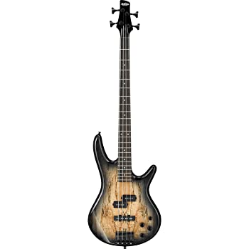 Ibanez 4 String Bass Guitar, Right Handed, Gray (GSR200SMNGT)