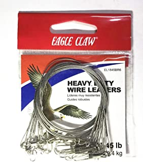 eagle claw heavy duty wire leaders