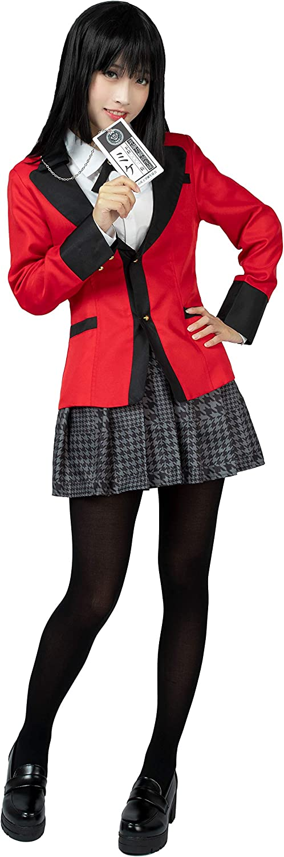 Nashville-Davidson Mall Cosfun Jabami Yumeko Cosplay Uniform School mp005024 SEAL limited product Costume