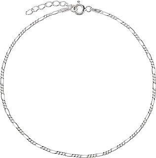 Cavigliera, Cavigliere, Argento Sterling 925, Figaro, Modello 27 (1,8 mm, 22-25 cm)