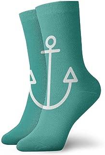 OUYouDeFangA, Equilibrio Anchor Calcetines de algodón divertidos calcetines cortos para yoga, senderismo, ciclismo, correr, deportes de fútbol