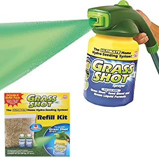 Grass Shot Ultimate Refill Kit, 700sq Feet Coverage