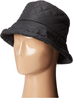SCALA - Quilted Rain Bucket Hat w/ Fleece Lining