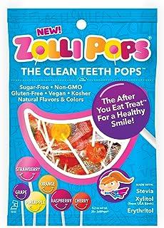 Zollipops Clean Teeth Pops, 5.2 Ounce