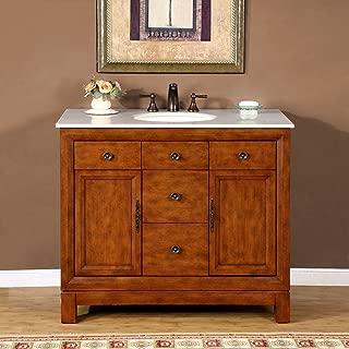 Best 42 wood bathroom vanity Reviews