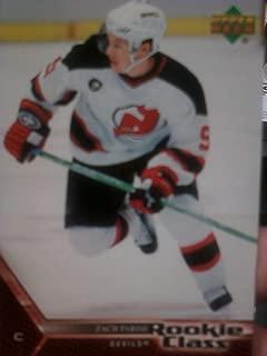 2005 06 Upper Deck Zach Parise New Jersey Devils Hockey
