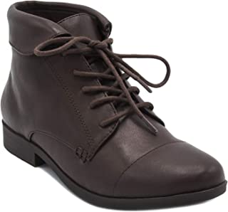 Best brown lace up boots ladies Reviews