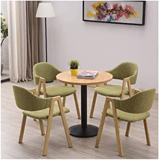 Mesa de comedor Juego de muebles Tabla de combinación casa y oficina Silla Mesas y sillas de ocio Recepción Balcón Cocina Sala de estar Mesa de comedor Mesa redonda moderna La negociación de negocios
