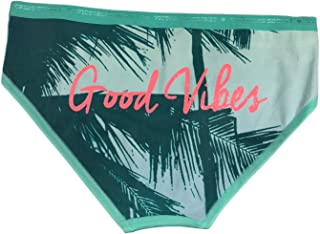 Victoria's Secret Good Vibes Hiphugger Palm Trees Cotton Panty Extra Small 0667541488300