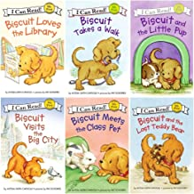 I Can Read : Biscuit and the Lost Teddy Bear, Biscuit Loves the Library, Biscuit Visits the Big City, Biscuit Meets the Class Pet, Biscuit and the Little Pup, Biscuit Takes a Walk - 6 Book Set