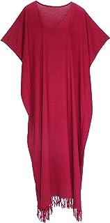 Beautybatik Women Caftan Kaftan Loungewear Maxi Plus Size Long Dress Size 18 to 26