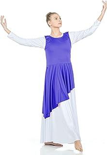 Danzcue Asymmetrical Praise Dance Tunic with Side Slits