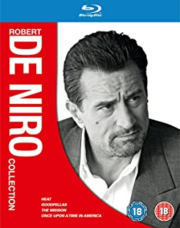 Robert De Niro Collection Heat / Goodfellas / The Mission / Once Upon a Time in America Reg.A/B/C United Kingdom