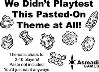 We Didn't Playtest This Pasted-On Theme at All Card Game