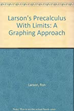 Larson's Precalculus With Limits: A Graphing Approach