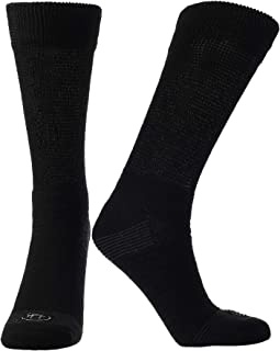 Sponsored Ad - Doctor's Choice Men's Diabetic & Neuropathy Crew Socks, Non-Binding Cushion Crew Sock with Aloe, Antimicrob...