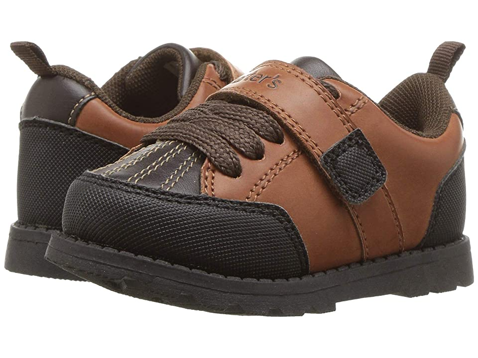 Carters Benelli (Toddler/Little Kid) (Brown PU/Textured PU) Boy