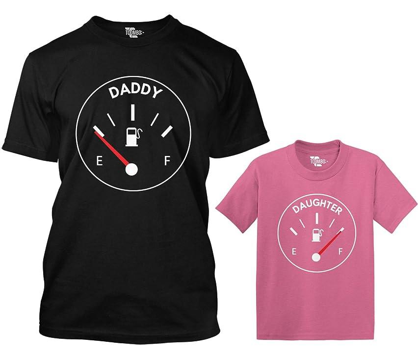 Daddy/Daughter Gas Meter Matching Toddler & Men's T-Shirt