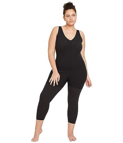 Nike NY Luxe Layered 7/8 Jumpsuit (Black/Dark Smoke Grey) Women