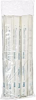 Corning Falcon 357543 Polystyrene Serological Pipet, 5mL Capacity (Case of 200)
