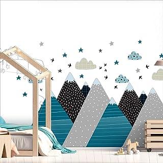 Stickers muraux enfants - Decoration chambre bébé - Stickers muraux enfant - Sticker mural scandinave - Autocollant mural ...