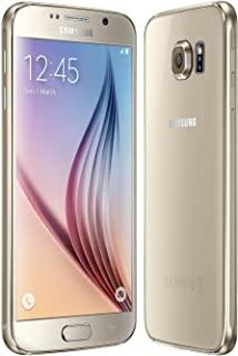 "Samsung Galaxy S6 G920F 32GB Factory Unlocked 5.1"" HD - International Version - Gold Platinum"