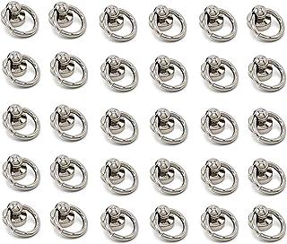 Lhbfcy Goujon Rivet avec Anneau Accessoires Maroquinerie Rivet Cuir Artisanat Bricolage Cuir Artisanat Métallique Rivet Ti...