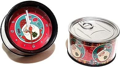 Neu Gadget Weihnachtsuhr Uhr Tischuhr Kaminuhr Geschenkdose Weihnachten Geschenk