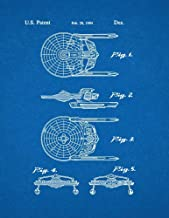 Star Trek USS Reliant Patent Print Blueprint (24