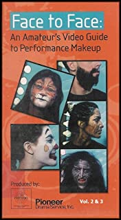 Face to Face: An Amateur's Video Guide to Performance Makeup (Tape 2 & 3: Special Applications / Fantasy Makeup / Cleaning Up) [VHS VIDEOS]