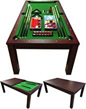 SIMBAUSA Pool Table 7FT Model MISSISIPI Snooker Full Accessories 7FT Become A Beautiful Table !! Coverage Plan Included in...