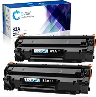 LxTek Compatible Toner Cartridge Replacement for HP 83A CF283A to use with Laserjet Pro..