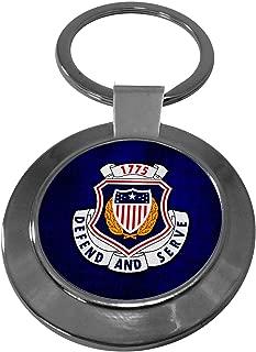 Premium Key Ring with U.S. Army Adjutant General Corps, regimental insignia