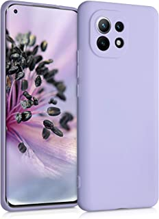 kwmobile TPU Case Compatible with Xiaomi Mi 11 - Soft Thin Slim Smooth Flexible Protective Phone Cover - Lavender