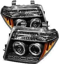 Spyder Auto Nissan Frontier/Pathfinder Black Halogen LED Projector Headlight