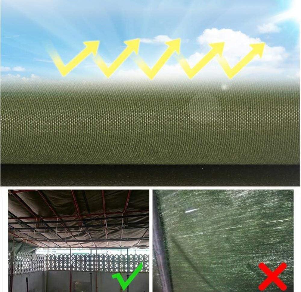 YUMUO Bâche bâche épaisse/bâche de Protection Solaire étanche/bâche de Voiture de Camion/Abat-Jour en Plein air d'arpaulin/Tissu de Couteau Chaud / 600g / mètre carré 085mm 2
