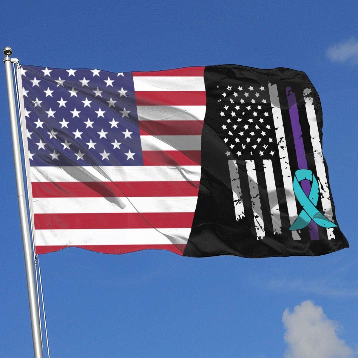 Suicide Prevention Awareness Flag QNK196Fv1 House Flag Garden Flag