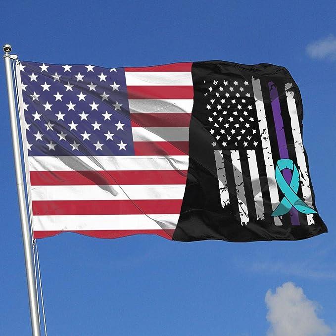 Suicide Prevention Awareness Flag DDH1869F House Flag Garden Flag