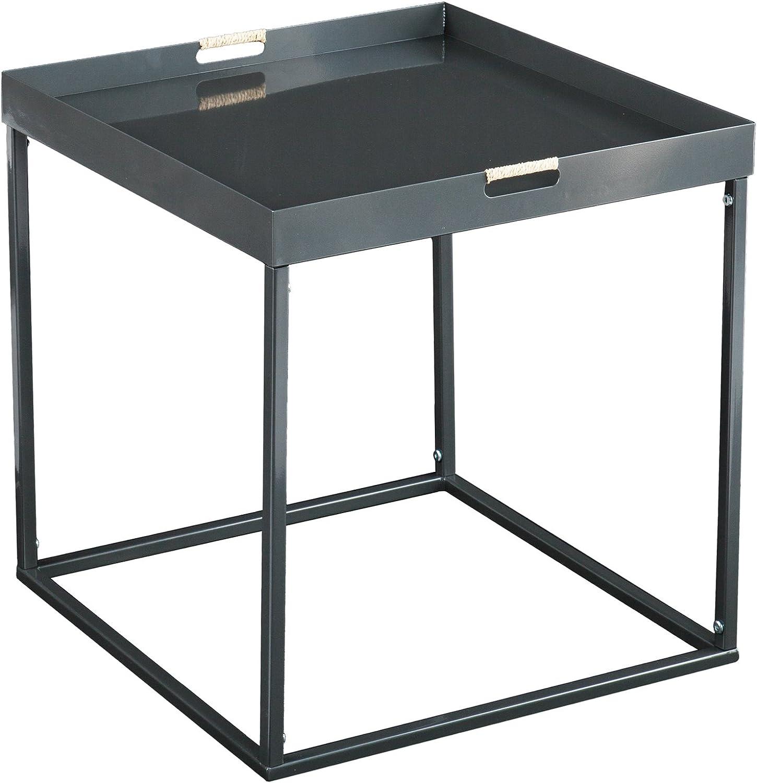 Southern Enterprises Nicholas Indoor Outdoor Butler Accent Table, Silver