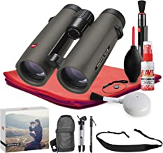 Leica 8x42 Noctivid Binocular (Olive Green) - Exclusive Outdoors Binoculars Kit