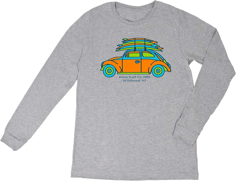KONA SURF CO. NEW Special Campaign Surf Bug Boys Sleeve Shirt Long