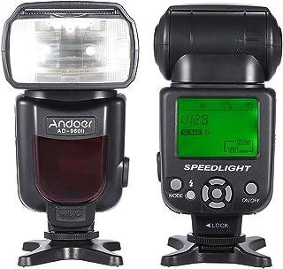 AD-960II Universal LCD Display On-camera Speedlite Flash GN54 for Nikon Canon Pentax DSLR Camera