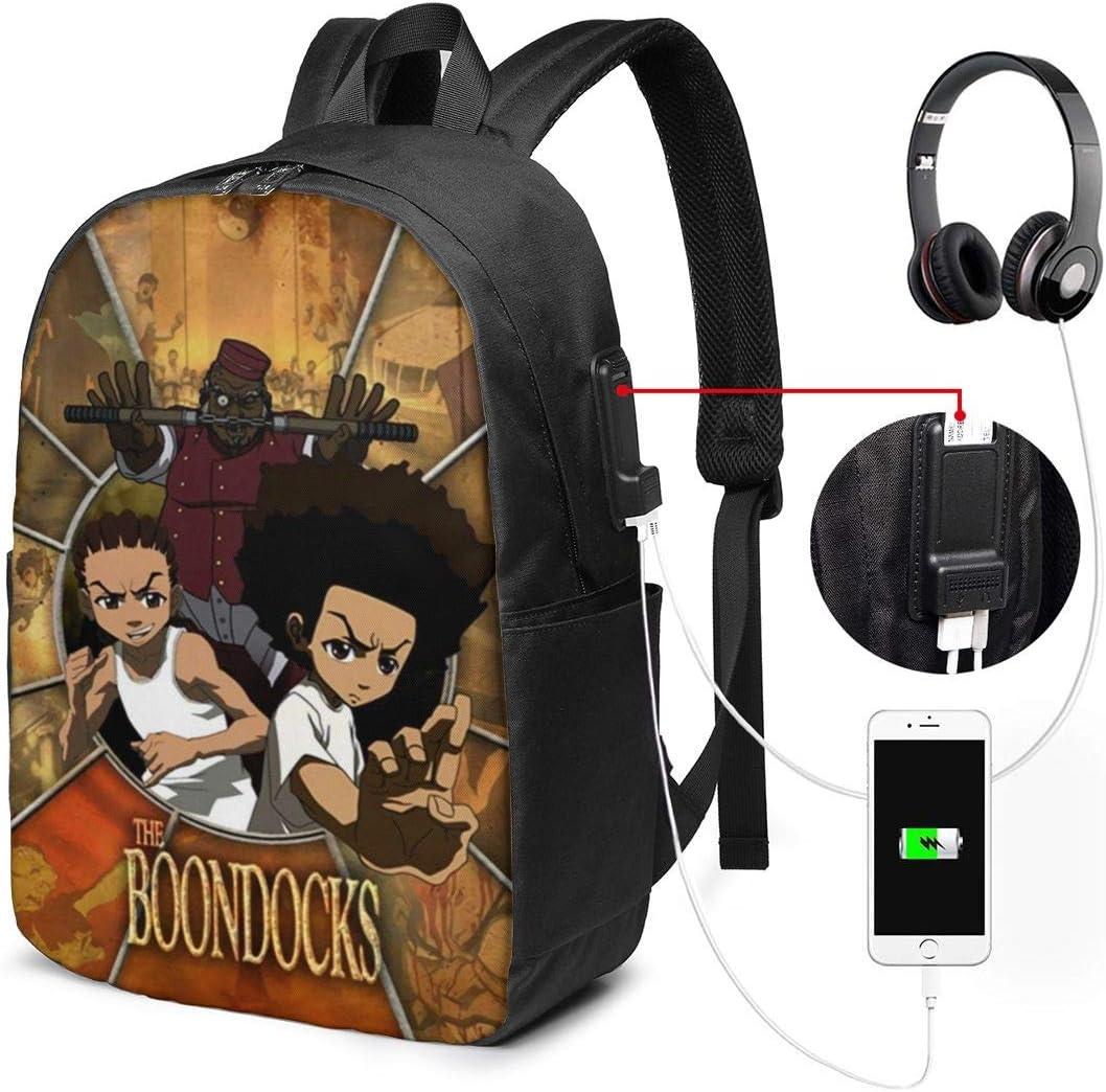 ChristineBermudez The Boondocks USB Classic Charging L Port 40% OFF Cheap Sale Backpack 17