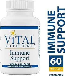 Vital Nutrients - Immune Support - Herbal Support for the Immune System - 60 Vegetarian Capsules per Bottle