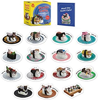 Sushi Cats Magnet Set: They're Magical! (RP Minis)