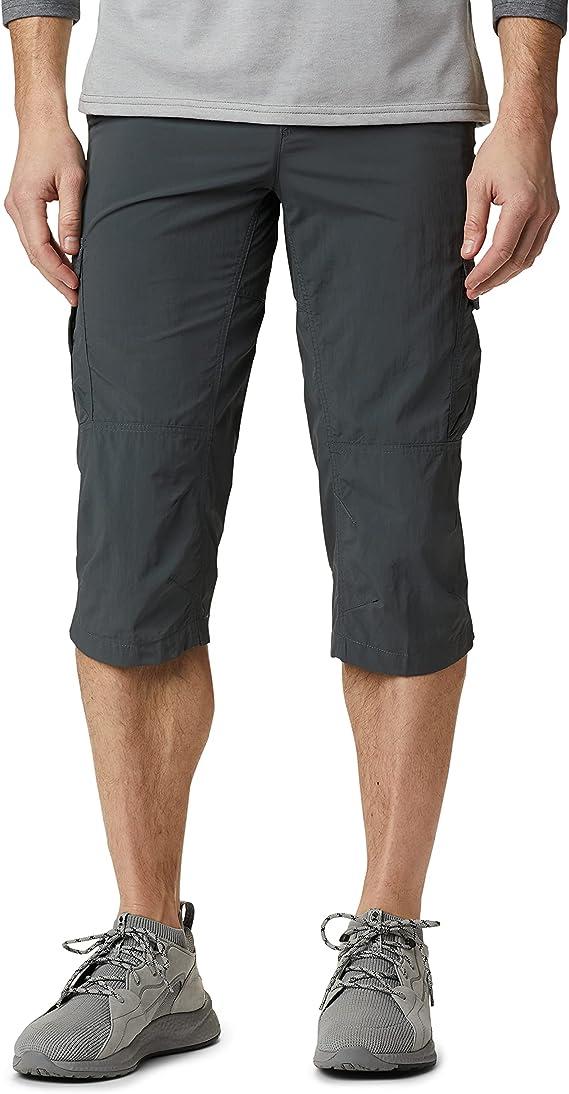columbia silver ridge ii, pantaloni capri, uomo : amazon.it: sport e tempo  libero  amazon.it