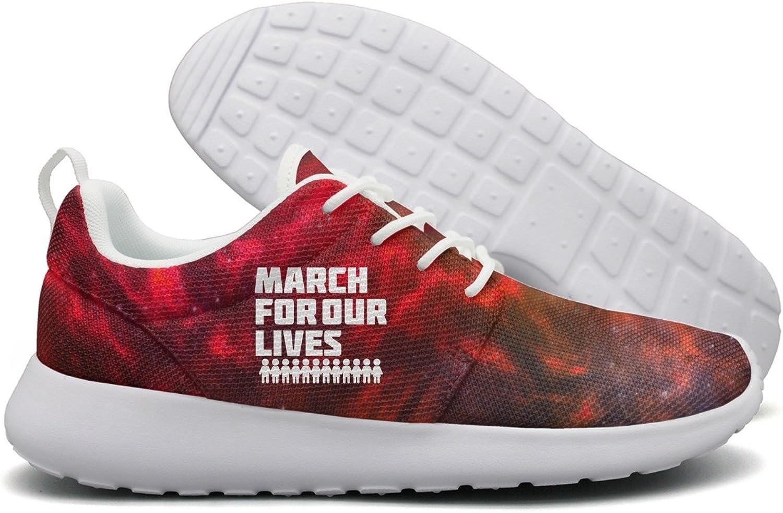 March For Our Lives Gun Control March 24, 2018, In Washington, D.C. Accessories Women Flex Mesh Lightweight shoes Women