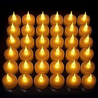 Vont LED Candles, Lasts 2X Longer, Realistic Tea Lights...